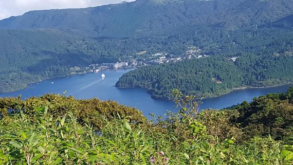 芦ノ湖の全貌