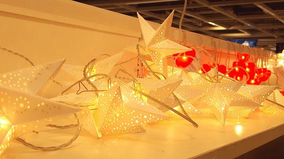ライトと光を通す星のアタッチメント