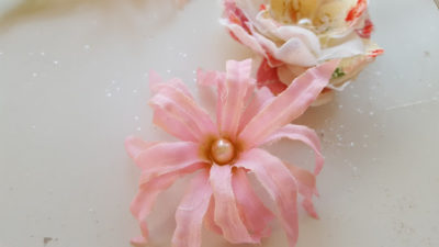 花芯にパール