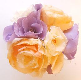 バラからほかの花へ変身