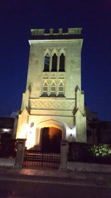 浮かび上がる横浜山手聖公会