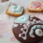 バレンタイン 簡単手作り アイシングで飾るお菓子