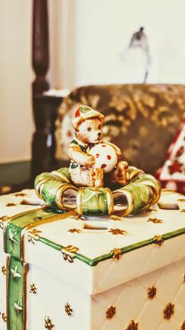 かわいいクリスマスボックス