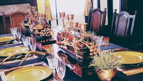 新年のお祝いにも素敵なテーブルコーディネート