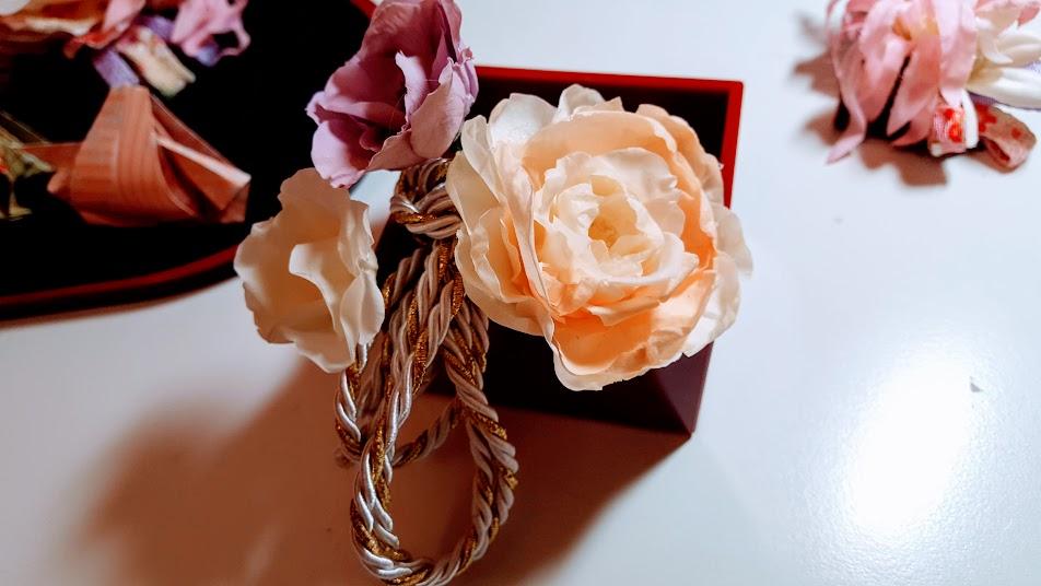 お花を挿す