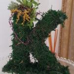 バレンタインの手作りプレゼント 多肉植物で彼の頭文字オブジェの作り方
