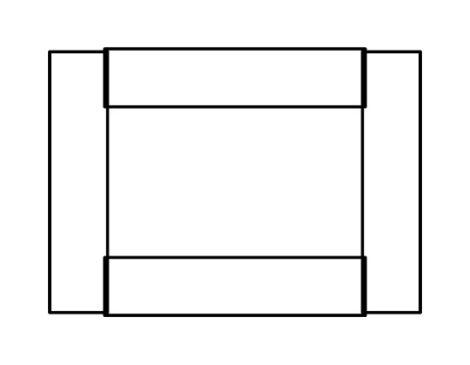 長方形の組み方