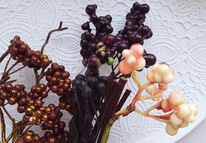 秋冬に使える実の物