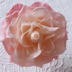 プリザーブドフラワー バラの開花の方法2 メリアで大きなバラを作る