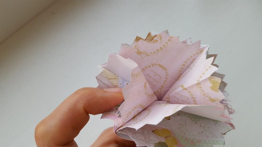 薄い紙なら3枚重ねてもさらにきれい