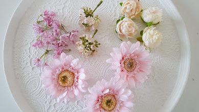 花のみを取る