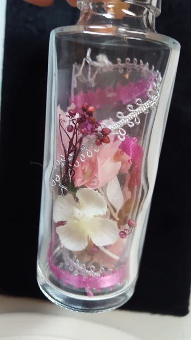 お花を配置