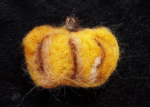 フェルトかぼちゃ