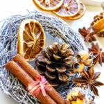 秋のスパイスリースの作り方 スパイシーな香り豊かなインテリア