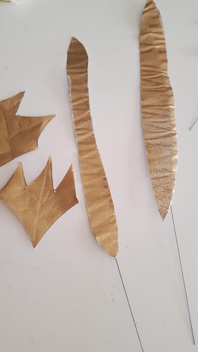長い葉を作る