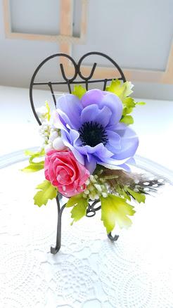 お花のチェアー
