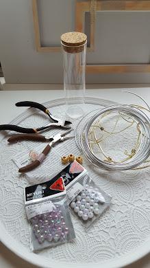 ナプキンリングの材料と道具