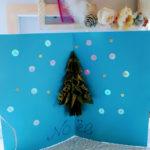 クリスマスカード ポップアップする作り方 折り紙で作れます