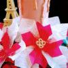 折り紙でクリスマスの飾り ポインセチアを作る❣
