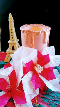 折り紙のポインセチア