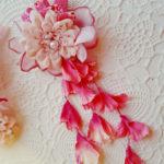 七五三 髪飾り 3歳用を手作りします❣   簡単な作り方