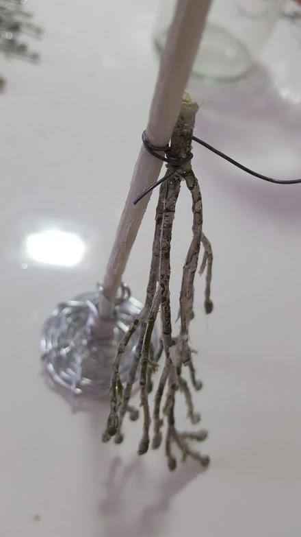 ツリーに枝をつける