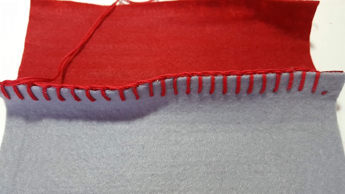 1辺を縫う