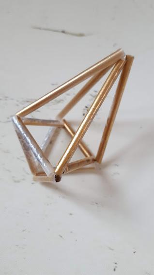 幾何学立体の出来上らり