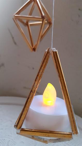 キャンドル型LEDをセット
