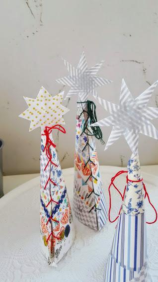 マスキングテープのクリスマスツリー
