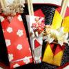 お正月 折り紙で飾る 折り方も簡単 花の付いたお祝い膳の作り方3選
