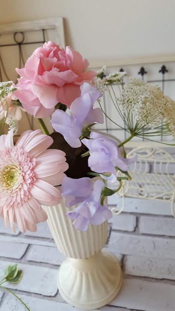 花と花の間も埋める