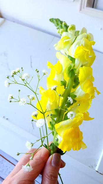 小花を入れる