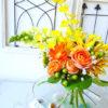 ブーケの作り方 スーパーの花屋さんの花束でスパイラルブーケを手作り