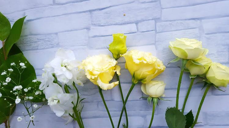 花材5種類