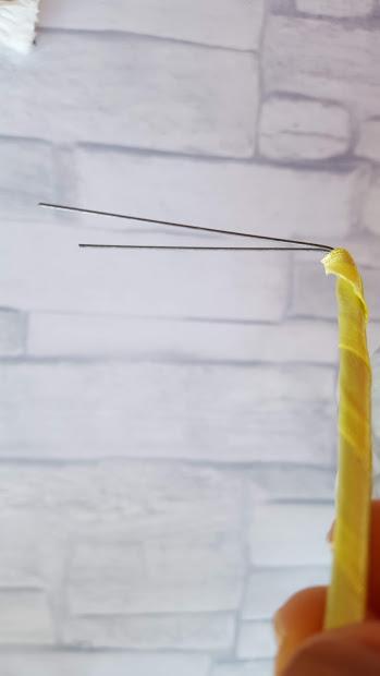 ワイヤーを曲げる