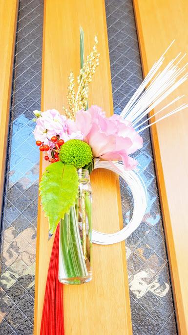 生花のお飾り
