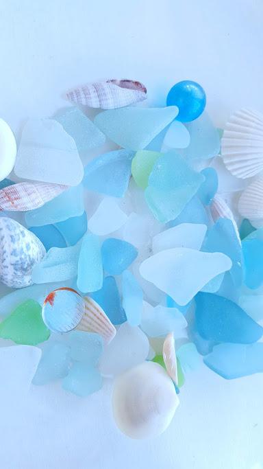 シーグラスや貝殻