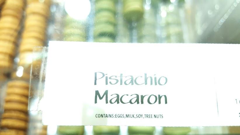 ピスタチオマカロン