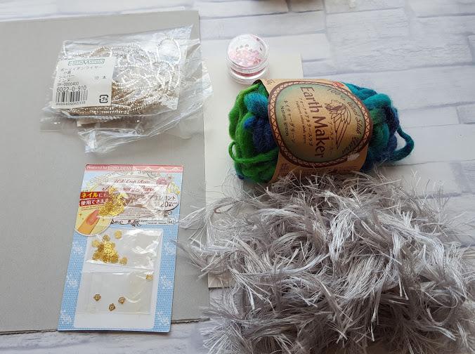 クリスマスツリー毛糸で手作りの材料