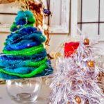 クリスマスツリー 手作りで毛糸で簡単に出来ちゃう!
